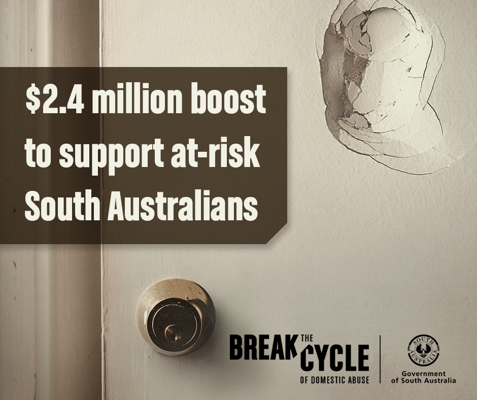 $2.4 million boost to support at-risk South Australians