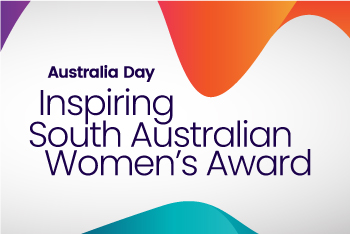 Australia Day - Inspiring South Australian Women's Award graphic