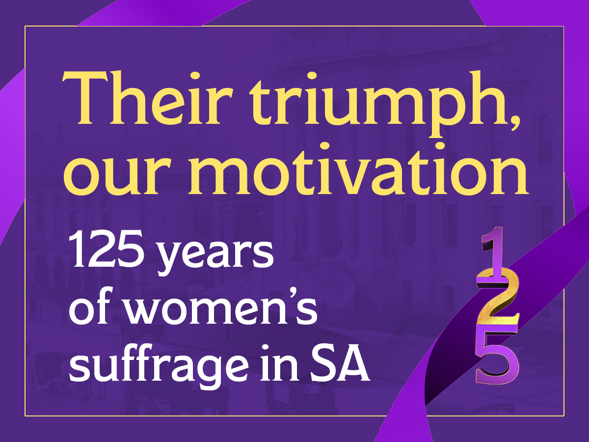 125 years of women's suffrage in SA